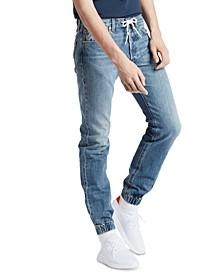 Men's 501® Original Straight-Fit Stretch Jogger Jeans
