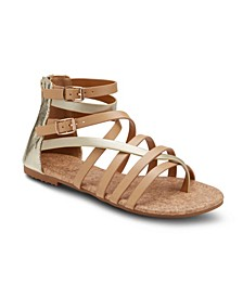 Modern Romance Two Tone Sandals