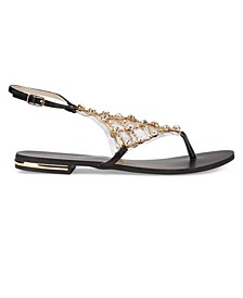 Crystal Multi Rhinestone Sandals