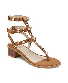 Quick on The Uptake Studded Sandals