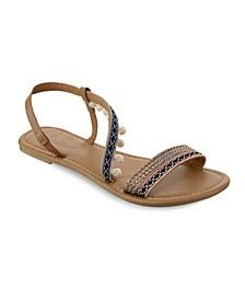 Neptune Mini Pom Pom Sandals