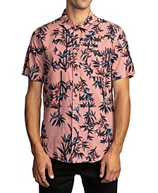 Men's Bamboozled Regular-Fit Bamboo-Print Shirt