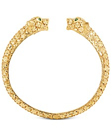 Effy Oro by EFFY® Panther Cuff Bracelet in 14k Gold