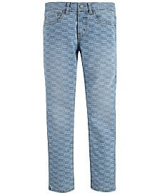 Levi's® Big Boys 512™ Slim Tapered-Fit Stretch Logo-Print Jeans