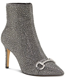 I.N.C. Ignacia Studded Ankle Bootie, Created for Macy's