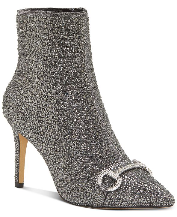 INC International Concepts INC Ignacia Studded Ankle Bootie, Created for Macy's
