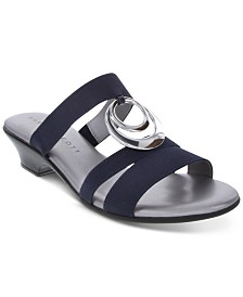Karen Scott Evonne Slip-On Sandals, Created for Macy's