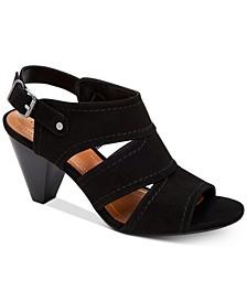 Hosper Cone-Heel Sandals, Created for Macy's