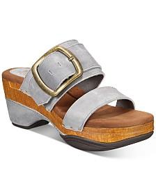 White Mountain Montage Wedge Sandals