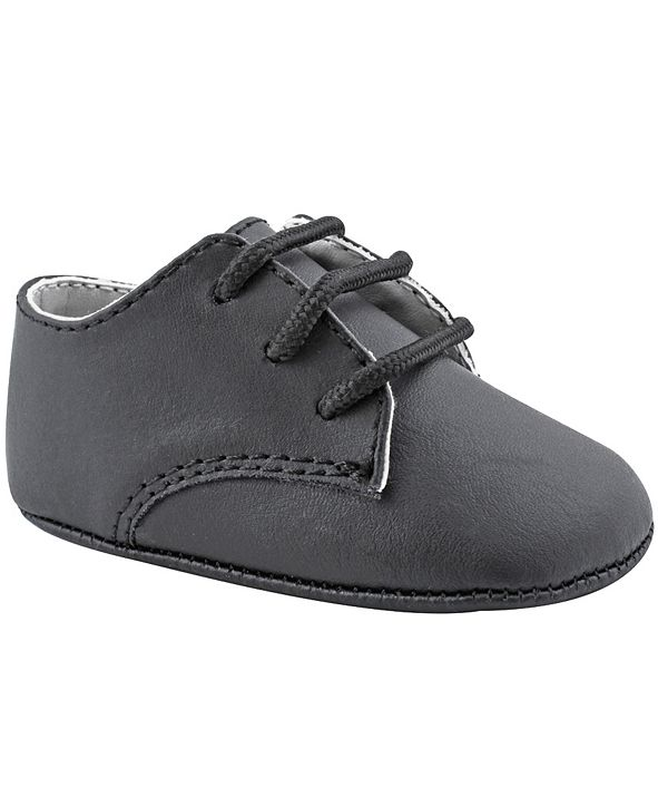 Baby Deer Baby Boy Leather Lace-Up Oxford