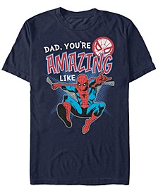 Men's Comic Collections Amazing Like Spider-Man Short Sleeve T-Shirt