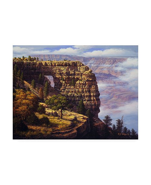 "Trademark Global R W Hedge Angels Window Canvas Art - 19.5"" x 26"""