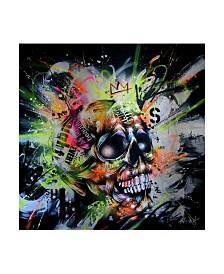 """Taka Sudo Shine Skull Canvas Art - 19.5"""" x 26"""""""