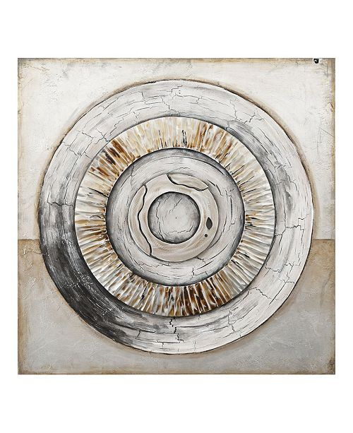 Moe's Home Collection Ancient Rings Wall Decor