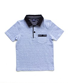 Big and Little Boy Short Sleeve Polo Shirt