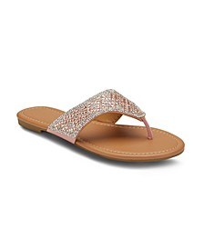 NY Minute Embellished Sandals