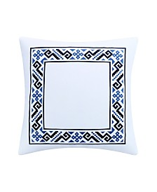Destinations by Stavros Thera Frame Decorative Pillow