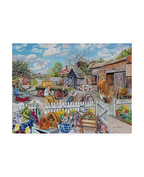 "Trademark Global Trevor Mitchell Back in the Yard Canvas Art - 27"" x 33.5"""