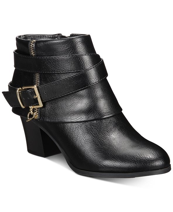 Thalia Sodi Tully Ankle Booties, Created for Macy's