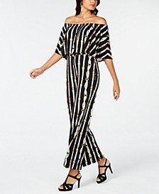 Printed Triple Threat Jumpsuit, Created for Macy's