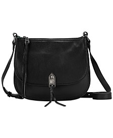The Sak Playa Leather Saddle Bag