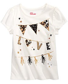 Little Girls Love Flags T-Shirt, Created for Macy's