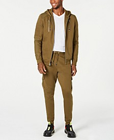 I.N.C. Zip-Front Hoodie & Banded Track Pants, Created for Macy's