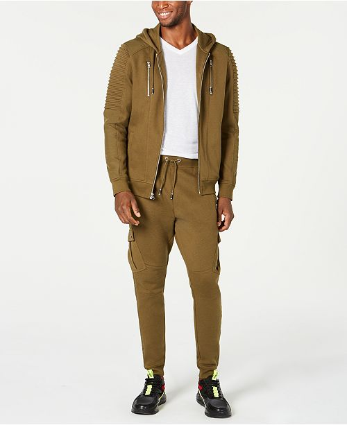 INC International Concepts I.N.C. Zip-Front Hoodie & Banded Track Pants, Created for Macy's