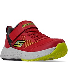 Skechers Little Boys Kewl Grip Stay-Put Closure Athletic Casual Sneakers from Finish Line
