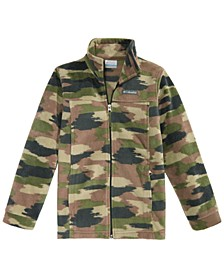 Big Boys Zing III Camo-Print Fleece Jacket