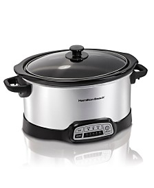 Hamilton Beach Programmable 6-Qt. Slow Cooker