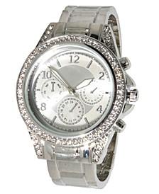 Women's Rhinestone Bezel Bracelet Watch 38mm
