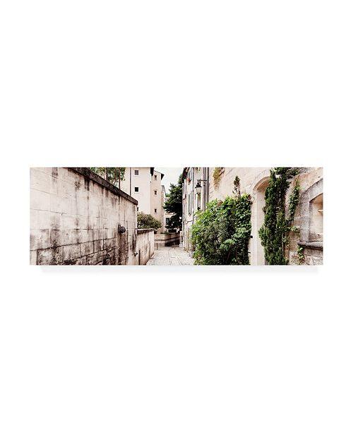 "Trademark Global Philippe Hugonnard France Provence 2 Street Scene Uzes Canvas Art - 19.5"" x 26"""