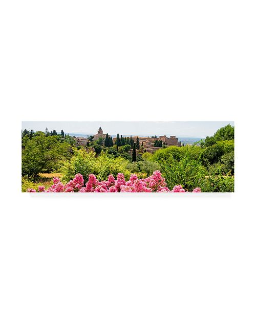 "Trademark Global Philippe Hugonnard Made in Spain 2 Summer scent at Alhambra Canvas Art - 36.5"" x 48"""