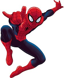 York Wallcoverings Spiderman - Ultimate Spiderman Peel and Stick Giant Wall Decal
