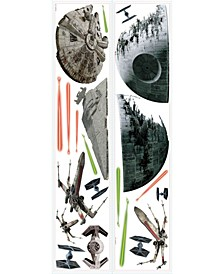 Star Wars Classic Spaceships Pands Wall Decals
