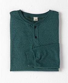 Under/Over Long Sleeve Henley T-shirt
