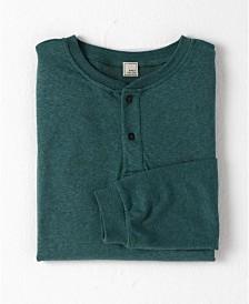 Swet Tailor Under/Over Long Sleeve Henley T-shirt