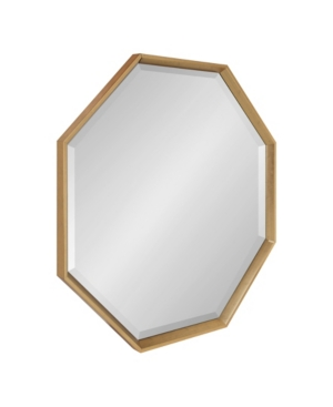 Kate and Laurel Calter Framed Large Octagon Wall Mirror - 31.5