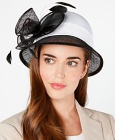 August Hats Sinamay Cloche