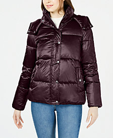 Tommy Hilfiger Hooded Puffer Coat, Created for Macy's