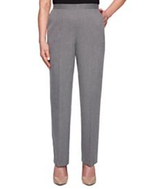 Alfred Dunner Petite Boardroom Pull-On Pants