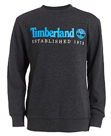 Timberland Big Boys Logo-Print Sweatshirt