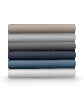 Classic Cool & Crisp 100% Cotton Percale 4-Piece Sheet Set- Cal King