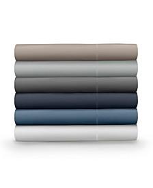 Classic Cool & Crisp 100% Cotton Percale 4-Piece Sheet Sets