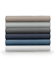 Pillow Guy Classic Cool & Crisp 100% Cotton Percale 4-Piece Sheet Sets