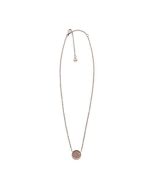 Skagen Women's Merete Stainless Steel Brilliant Mesh Necklace