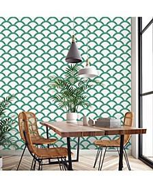 Mosaic Scallop Self-Adhesive Wallpaper