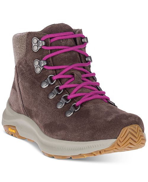 Merrell Women's Ontario Suede Mid Hiking Boots