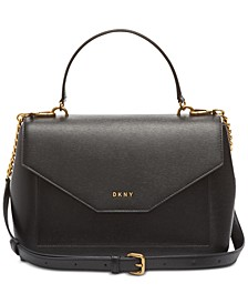 Alexa Leather Top Handle Satchel, Created for Macy's